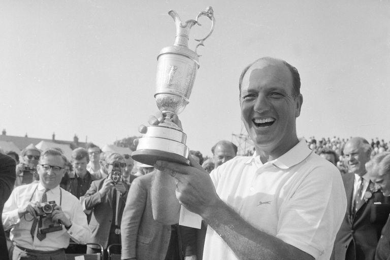 El momento de mayor gloria de Roberto De Vicenzo: campeón en el Open de 1967 en Hoylake