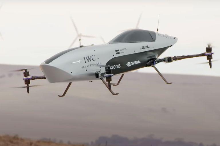 Así luce en acción Alauda Mk3, el primer auto volador de carreras, un prototipo eléctrico que tuvo su despegue en Australia