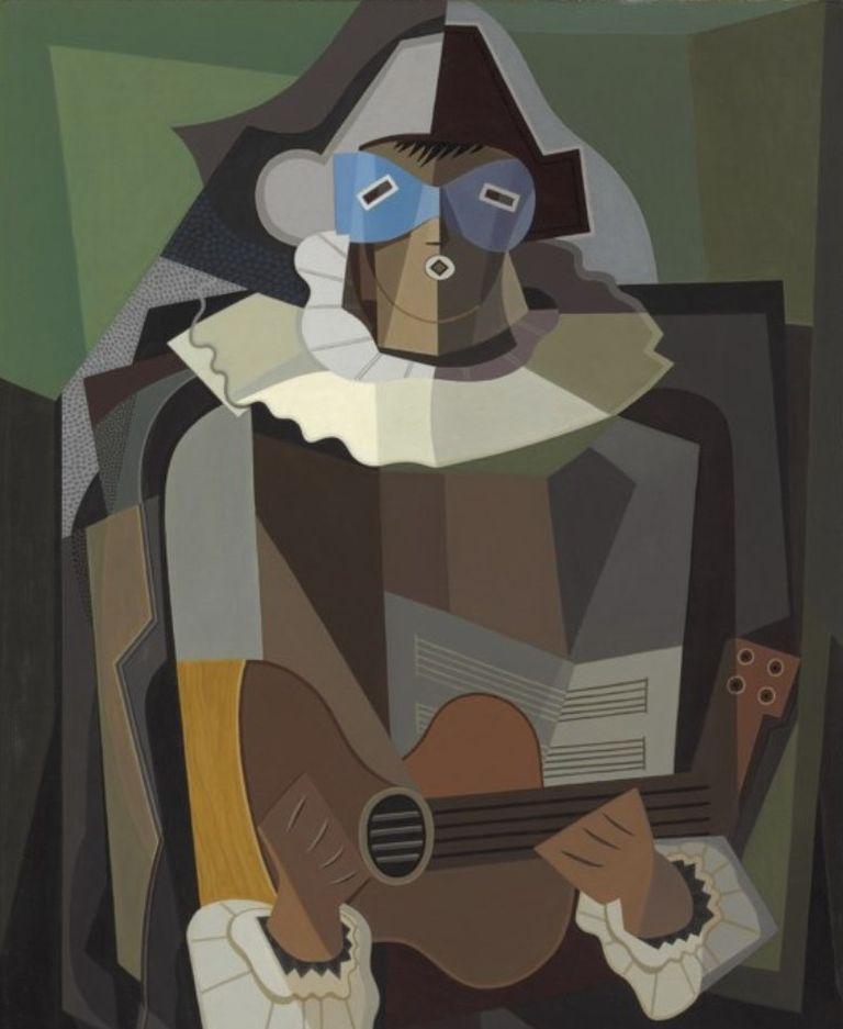 El cantor (1934), de Emilio Pettoruti, vendida en Christie's (NY) en noviembre de 2008 por 782.500 dólares