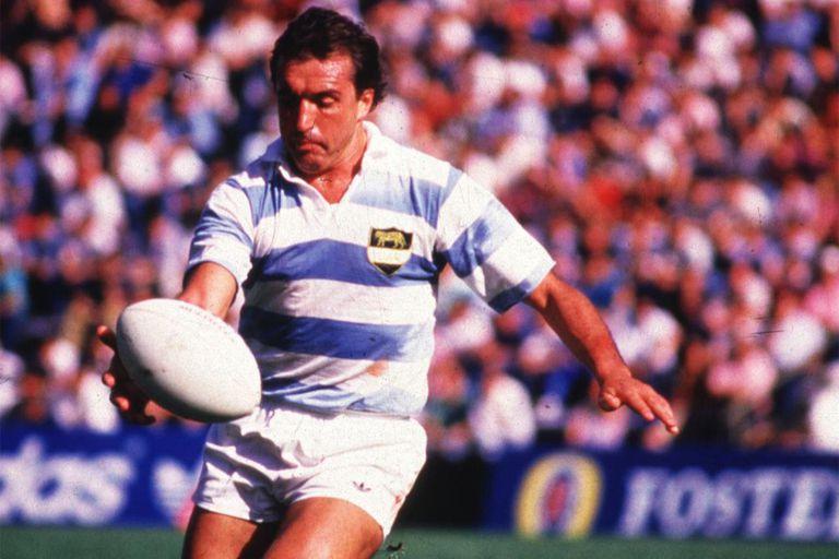Un crack retirado en 1990: Hugo Porta.