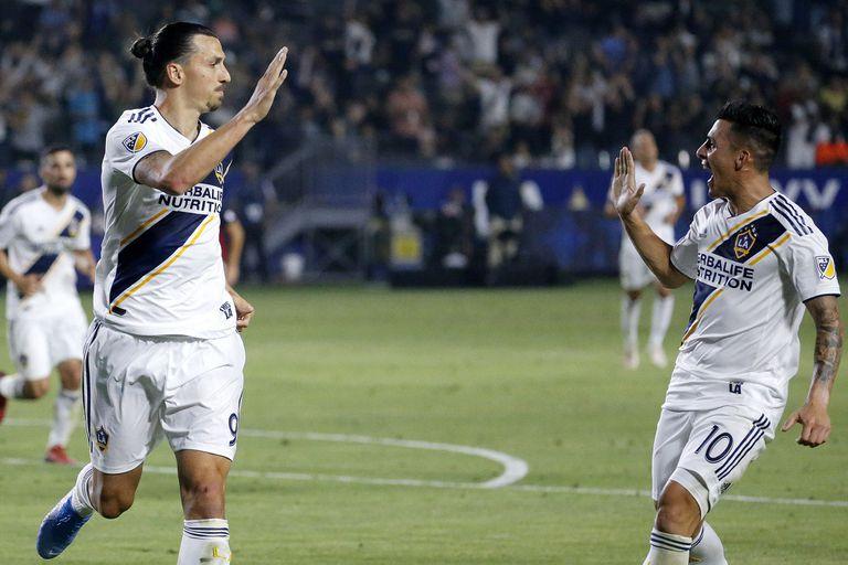 Figura: el inesperado elogio de Ibrahimovic a Pavón, la nueva estrella de la MLS