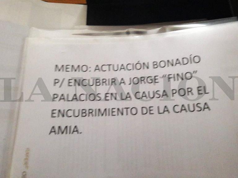 Los documentos hallados durante los allanamientos en la casa de la exmandataria