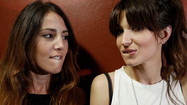 Trinidad López Rosende y Micaela Lusardi transpiran actitud en la Rock & Pop
