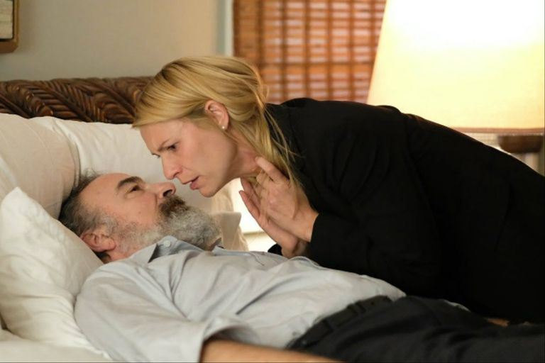 Saul y Carrie, los personajes centrales de esta historia que tuvo muchas idas y vueltas