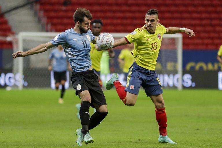 Uruguay - Colombia: horario y formaciones del partido por las eliminatorias sudamericanas