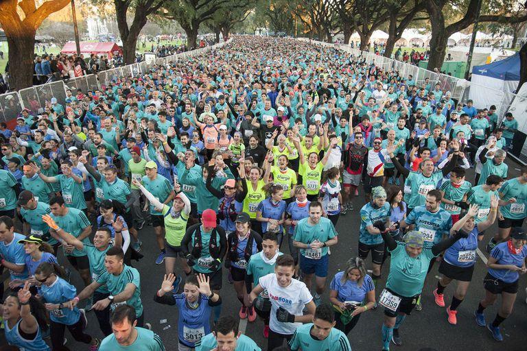 Maratón de Buenos Aires: arrancó la carrera con cortes desde Núñez hasta La Boca