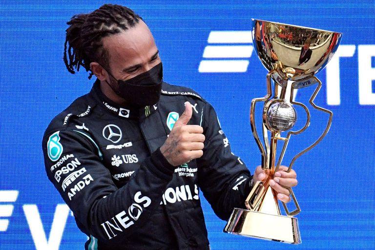 Cien veces Hamilton: en el Gran Premio de Rusia 2021, el piloto británico logró la marca de 100 victorias en la Fórmula 1