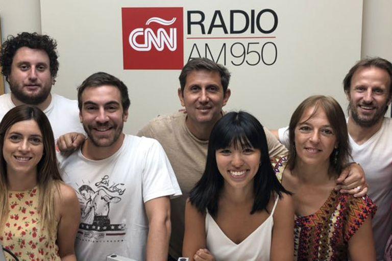 El periodista comenzó su ciclo Somos la mañana de CNN por la emisora de la cadena internacional de noticias, AM950, ex radio Belgrano