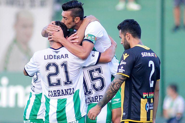 Banfield goleó a Olimpo por la Superliga y llega entonado al clásico con Lanús