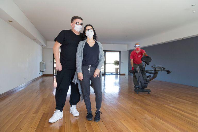 Sergio e Ivana Ramos habían proyectado el traslado a un departamento cercano el viernes 20 de marzo, el día en que comenzó a regir el aislamiento obligatorio
