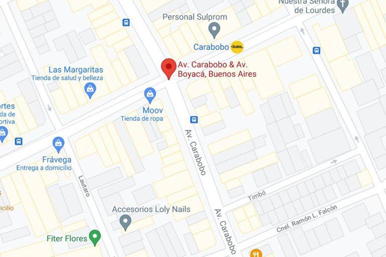En Carabobo, de Rivadavia hacia el sur, hubo dos cuadras de bulevar que ya no existen