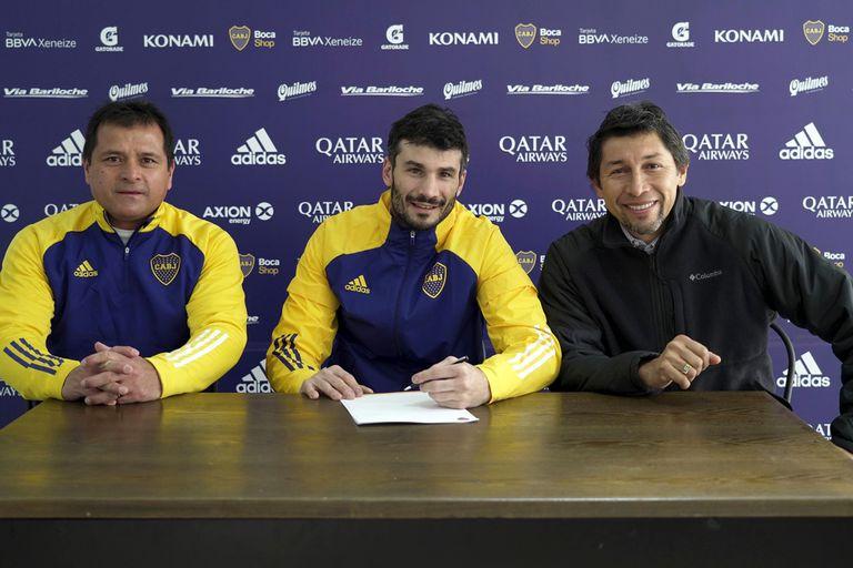El arquero Javier García, que llega como jugador libre tras su paso por Racing, firmó su contrato hasta diciembre 2022 y regresa al club donde se formó.