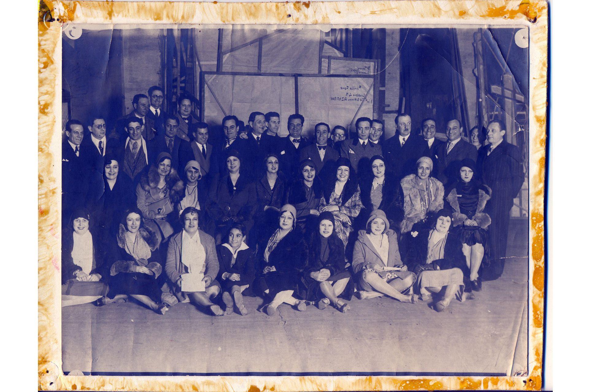 Las primeras reuniones de la comunidad artística porteña