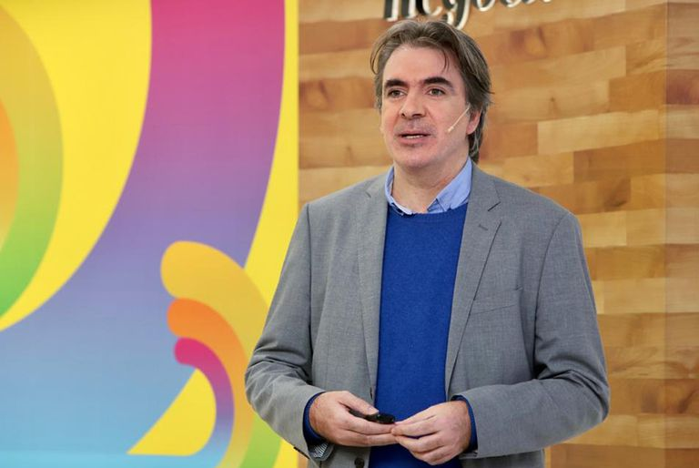 Sebastián Campanario, periodista especializado en innovación y columnista de LA NACION