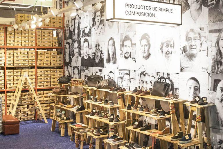 Una marca destinó $200.000 a un espacio realizado con maderas de pallets; tiene 40 metros cuadrados y está ubicado en un shopping