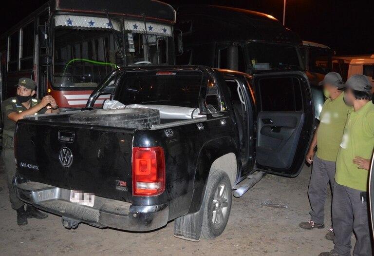 Secuestro de marihuana y cocaína en Orán, Salta