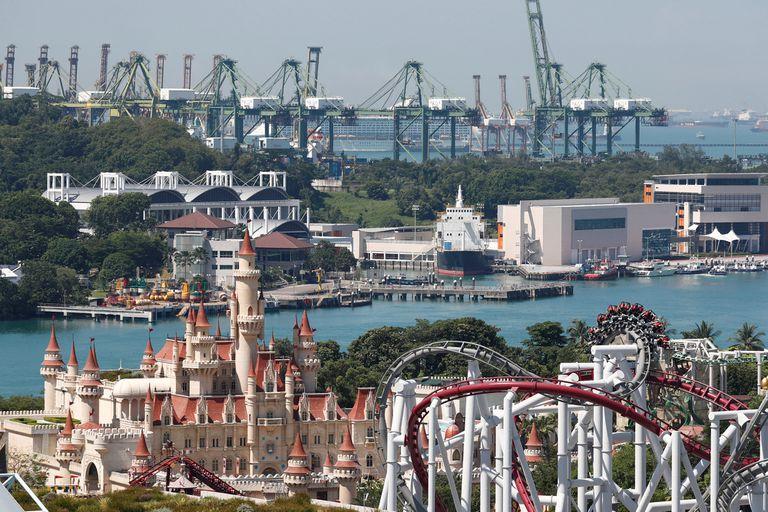 Sentosa: la paradisiaca isla de Singapur que se prepara para recibir a Donald Trump y a Kim Jong-un
