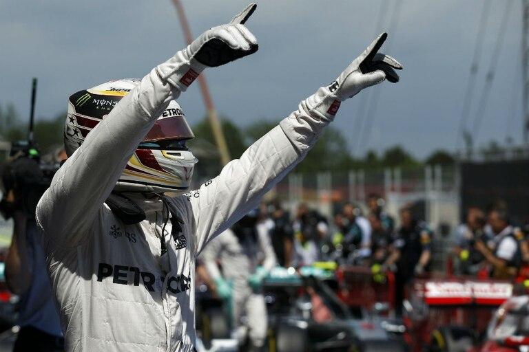 Hamilton, el más rápido en Barcelona