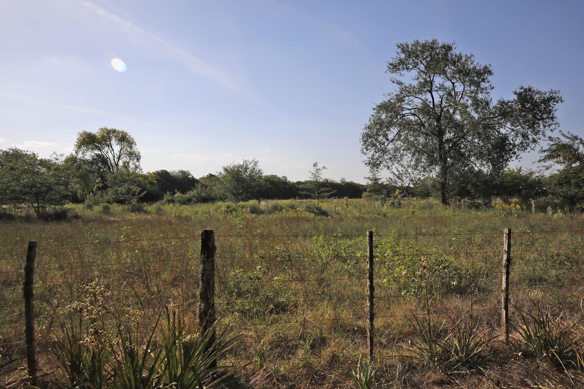 Este es el terreno donde harían el relleno sanitario