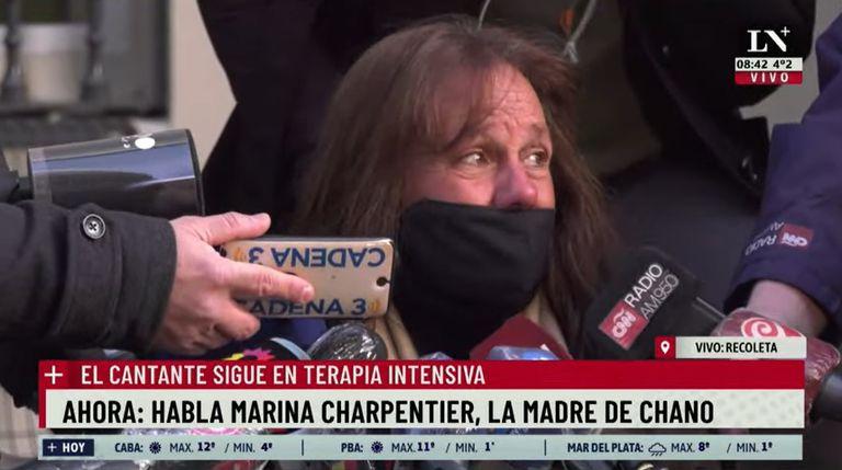 Mañana declara Marina Charpentier, la madre de Chano