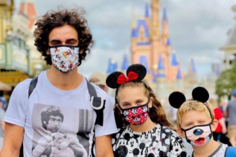"""Las fotos de Mariano Martínez en Disney: """"Nunca dejes de creer en la magia"""""""