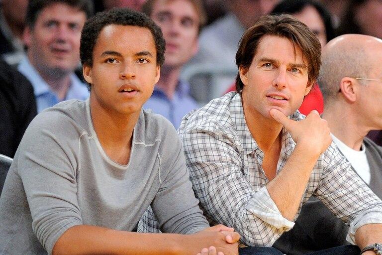 Connor es el hijo adoptivo de Tom Cruise y Nicole Kidman