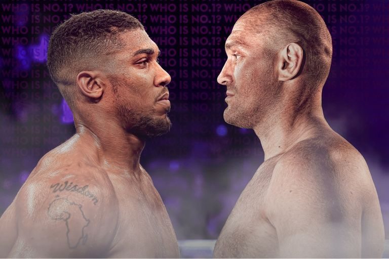 Joshua y Fury, frente a frente en un combate de pesos pesados que será imperdible