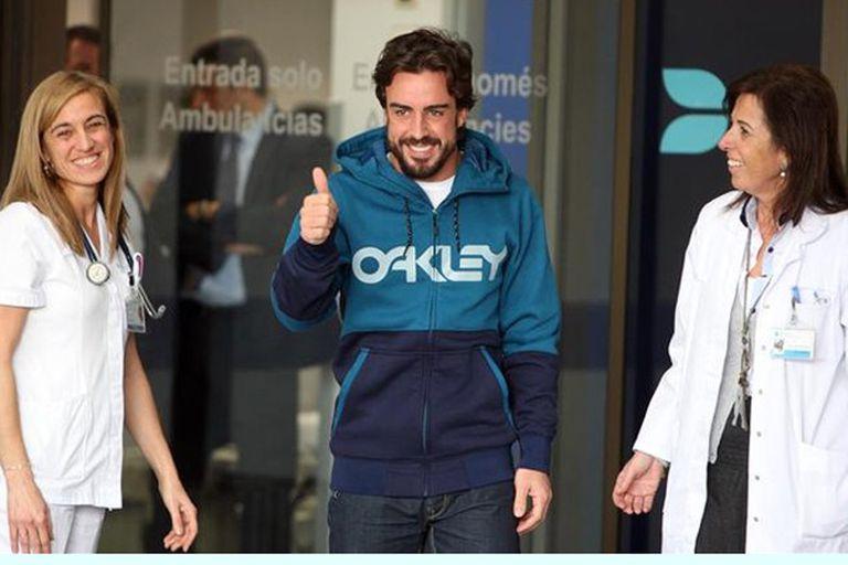 Fernando Alonso no superó las pruebas médicas de la FIA