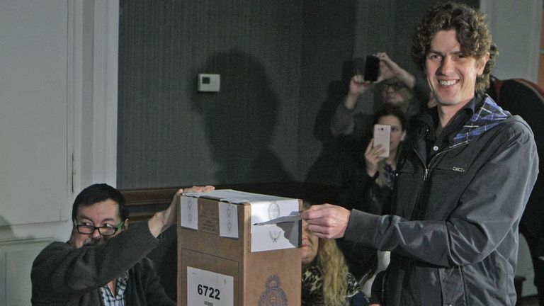 El voto de Martín Lousteau