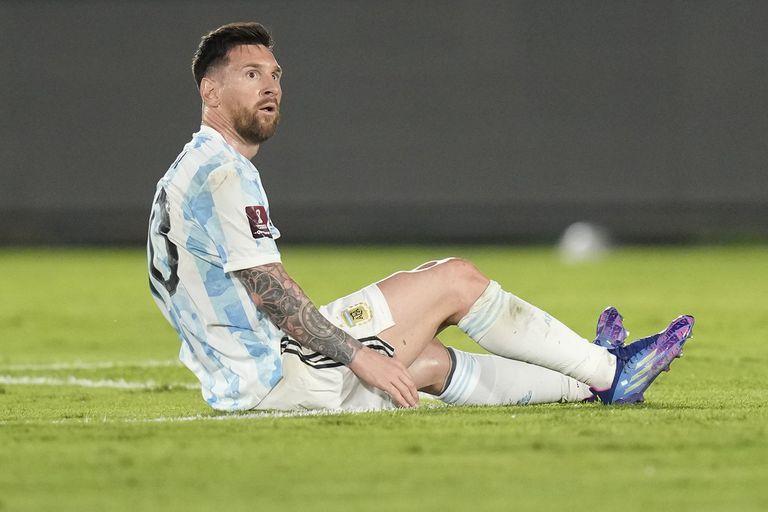 Lionel Messi se queja por las infracciones recibidas