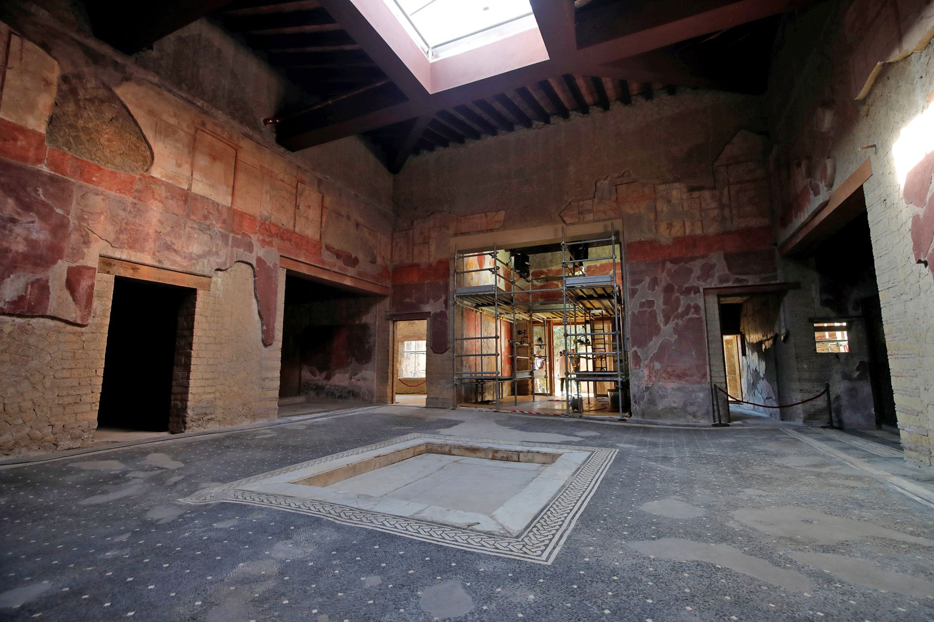 Vista del interior de una de las casa más nobles de la ciudad