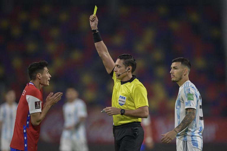 """El árbitro: un venezolano con pasado reciente y una """"mancha"""" en el VAR"""