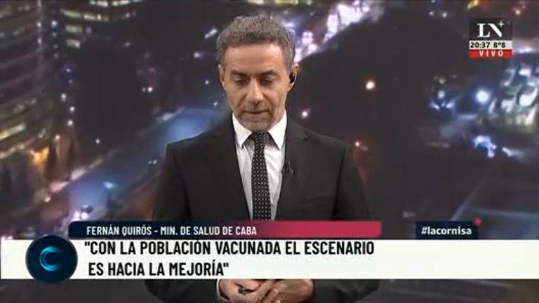 """¿Y si fuera Cristina la que tendría que buscarse """"otro laburo""""? El editorial de Luis Majul."""