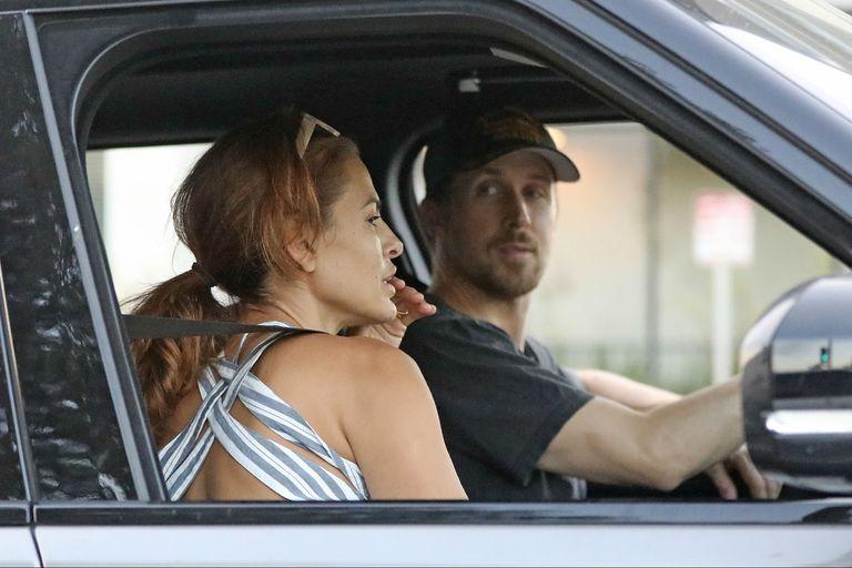 Eva y Mendes y Ryan Gosling se conocieron en 2011 en el film Cruce de caminos