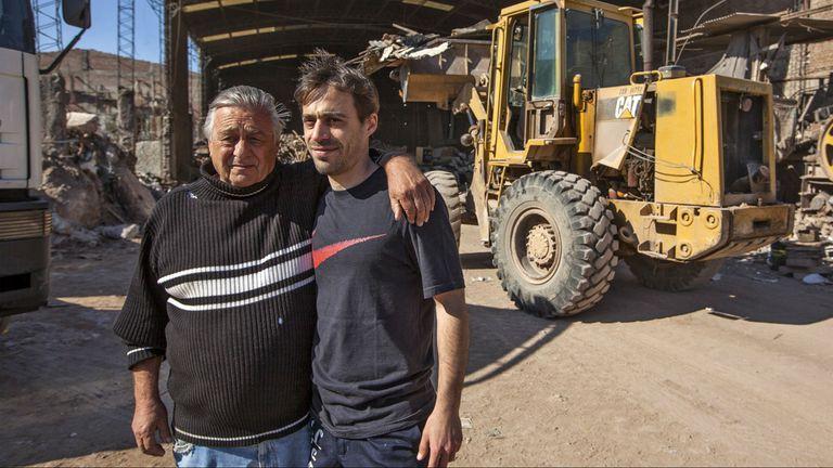 Leonardo Robles y su padre trabajan juntos hace 16 años