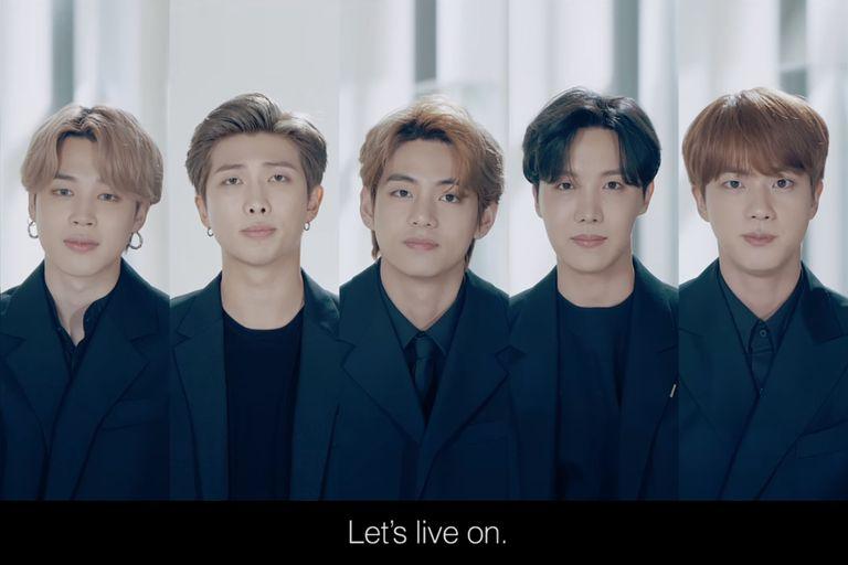 """""""La vida sigue"""": el emocionante discurso de BTS en la Asamblea General de la ONU"""