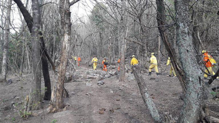 Fuego devastador. En solo tres meses, en Córdoba se quemaron 191.000 hectáreas