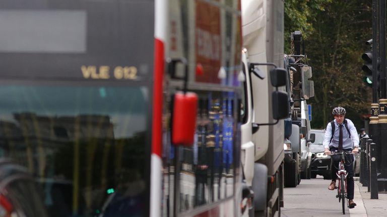 La contaminación del aire causa alrededor de 40.000 muertes prematuras por a?o en el Reino Unido