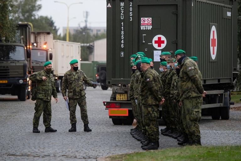 El incremento de casos diario alcanzó los 11.984 en República Checa