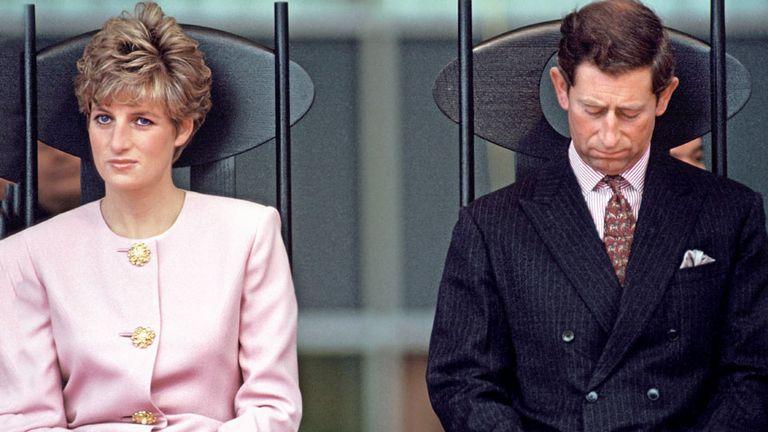 Lady Di y Carlos, un matrimonio que no pudo ser feliz