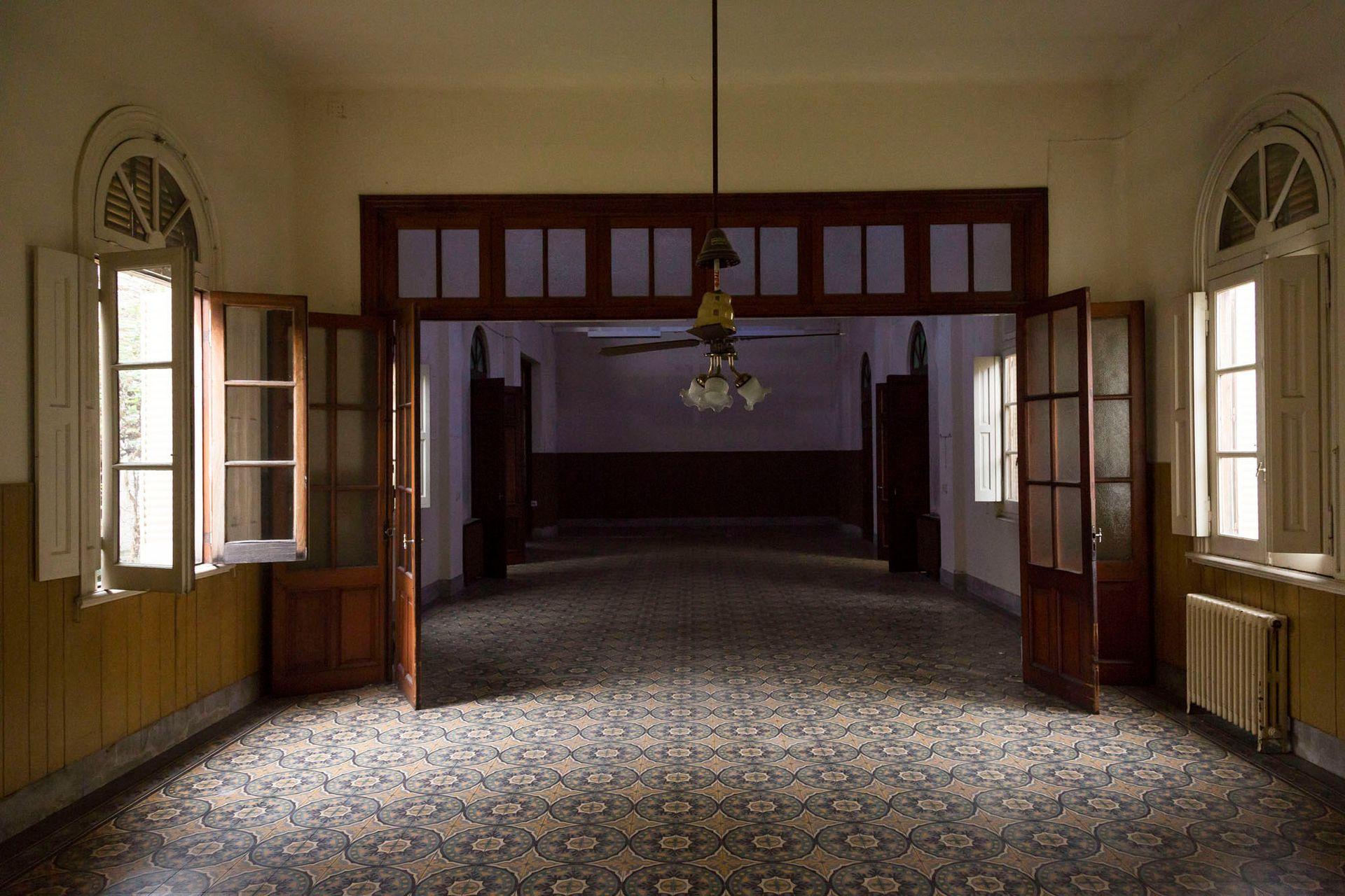 El convento tiene grandes salones