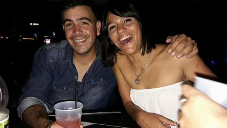 Alfredo Turcumán y Claudia Moya