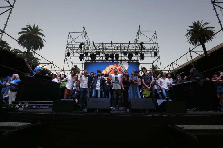 La movida buscó unir a los argentinos a través del arte