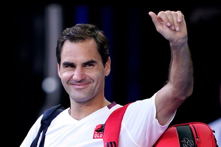 La cara de satisfacción del increíble Federer, que salvó nada menos que siete match points y sigue adelante en Australia