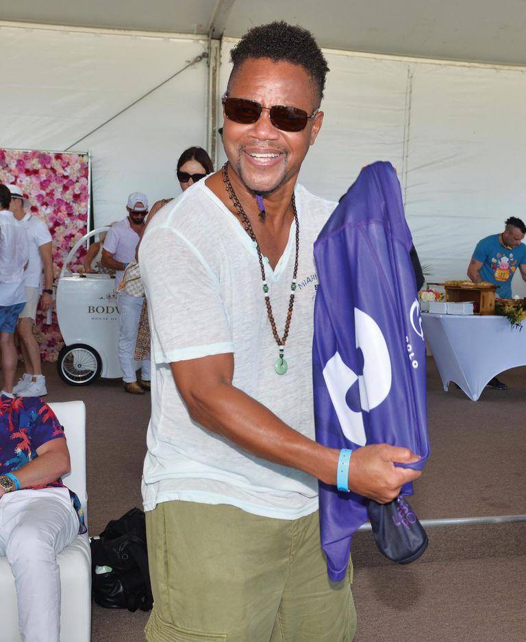 El actor Cuba Gooding Junior se declaró un gran entusiasta del deporte de los príncipes.