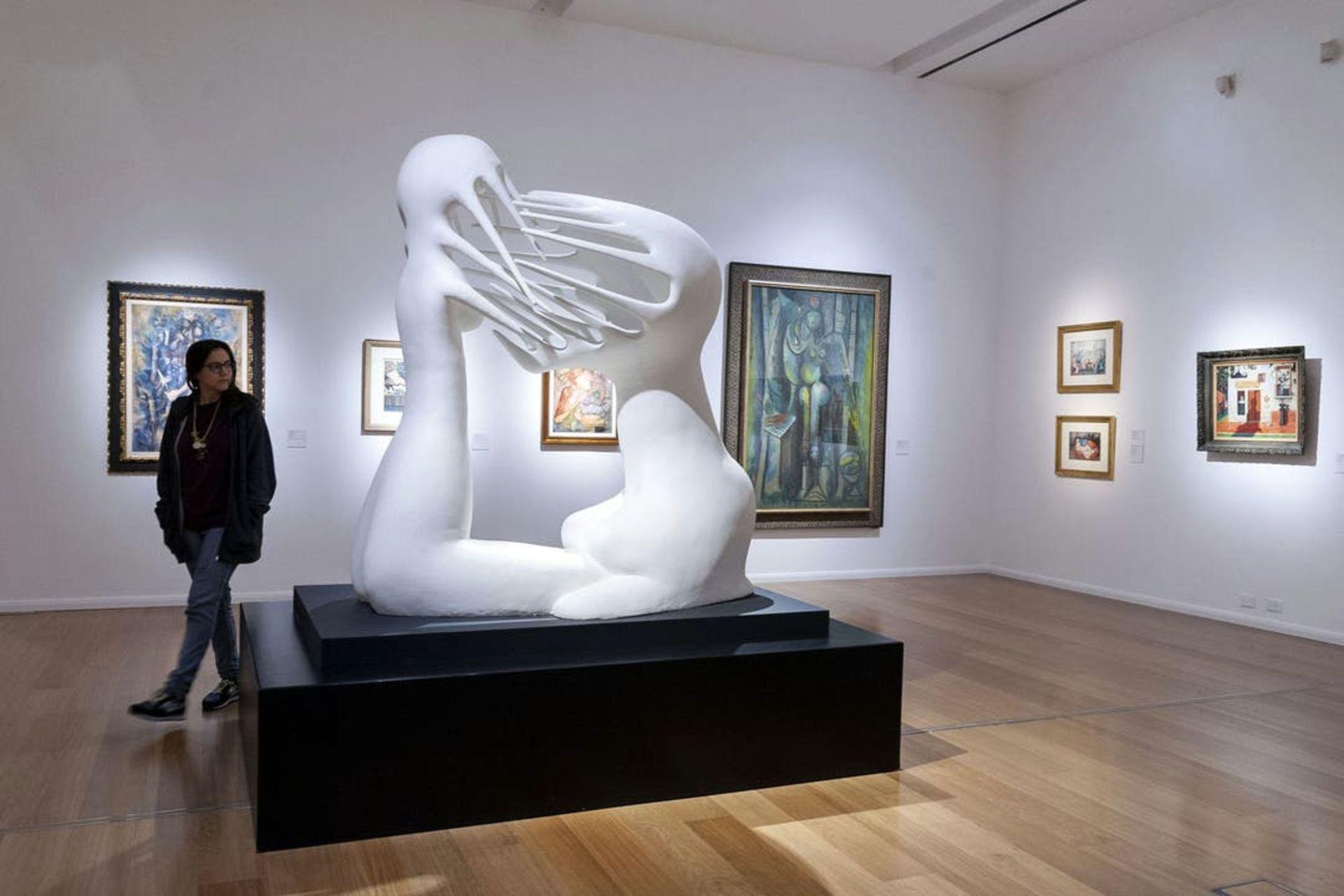 """""""Lo imposible"""", exhibida como parte de la colección permanente del Malba"""