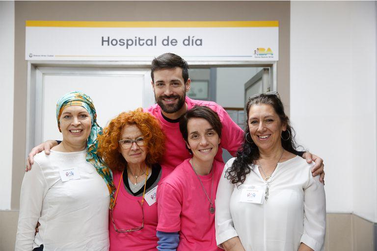 Desde 2000, Sostén acompaña a las personas con diagnóstico de todo tipo de cáncer y a sus familias, brindándoles orientación y contención. Foto: Silvana Colombo