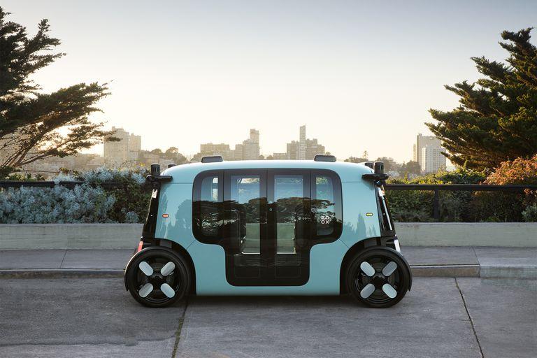 Amazon muestra cómo será su flota de taxis autónomos