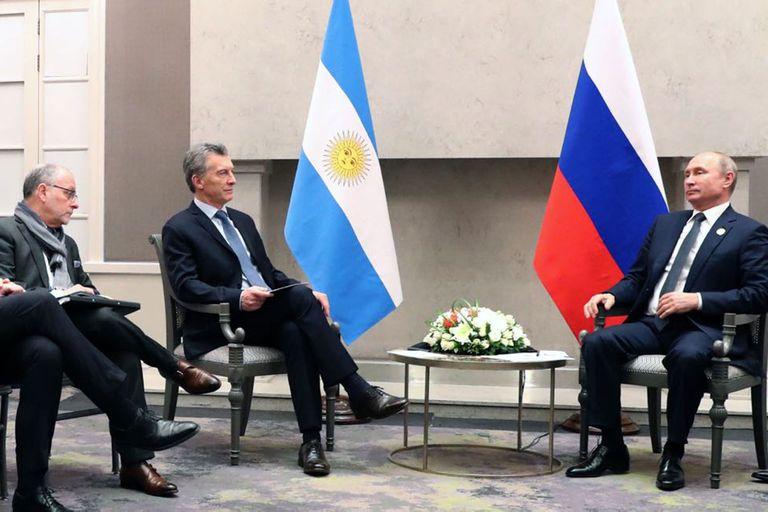 El canciller acompañó al Presidente en sus reuniones en Sudáfrica