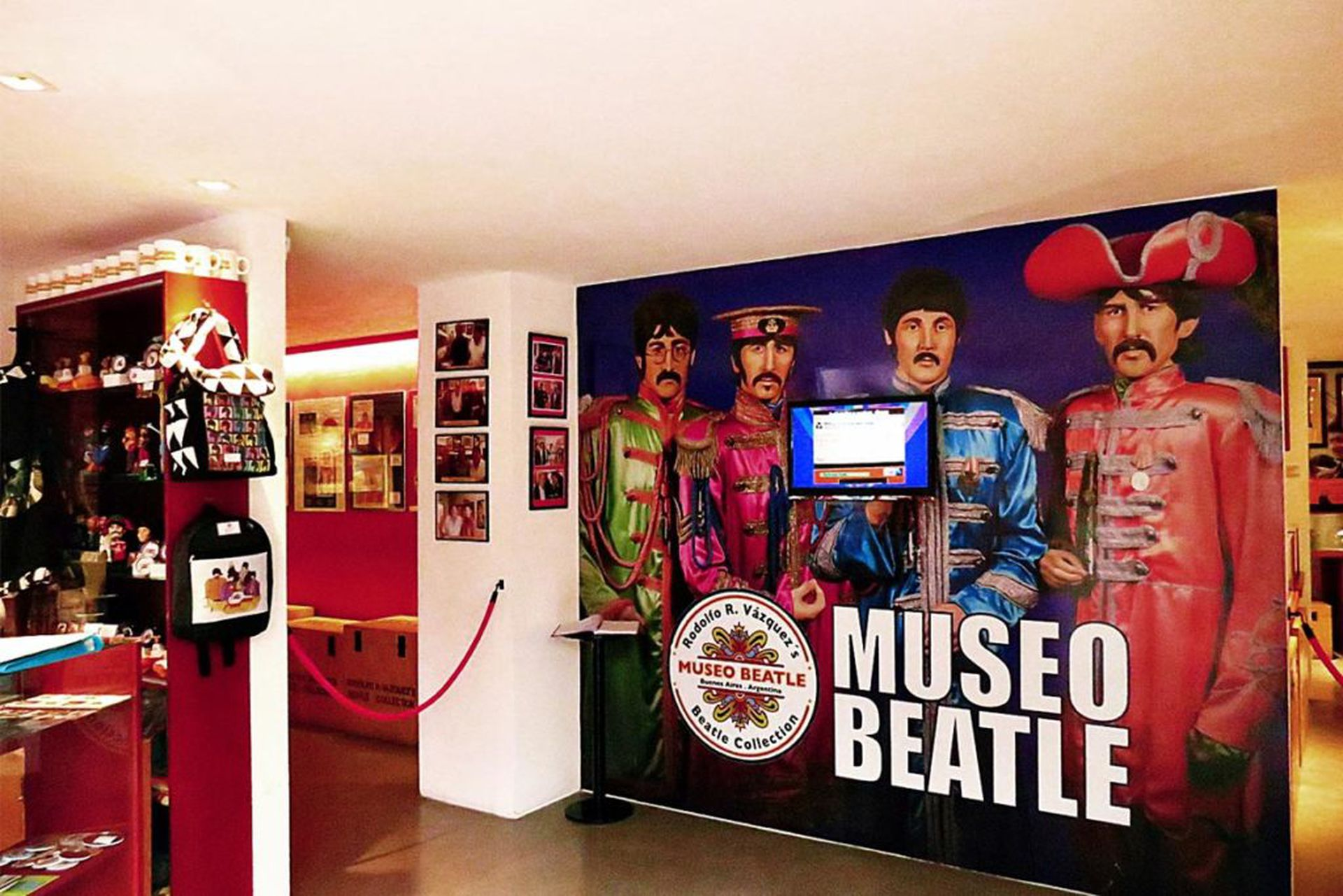 Museo Beatle Buenos Aires a pasos de la calle Corrientes.